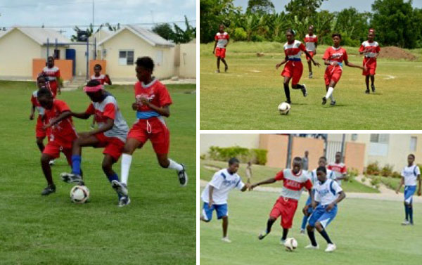 A SOCCER TOURNAMENT FEAT 332 KIDS AND TEENS BY CAEI